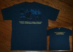 Bruce Springsteen 2009 Giants Stadium Final Shows Concert Tour T-Shirt Men's M