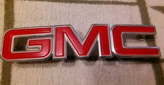 88-98 GMC Sierra Front Grille Badge Emblem 15682309 grill g m c truck SUBURBAN #GMC