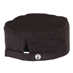 Cool Vent Pinstripe Beanie Hat - Buy Online at Nisbets