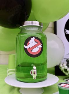 Ghostbusters drink at a Ghostbusters party