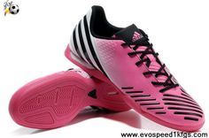 Sale Discount Super Pink-White-Black Released Adidas Predator LZ TRX IC For Sale