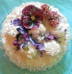 SUGARED FLOWERS SET PurpleBurgandy. BlueReal by SugarBakersBakery