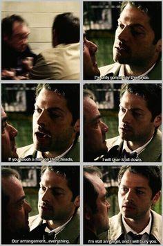 Castiel and Crowley | Supernatural