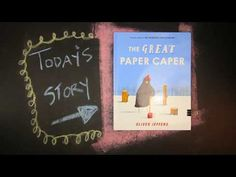 The Great Paper Caper by Oliver Jeffers - YouTube