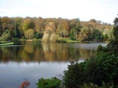 Stourhead, it is always a beautiful walk around the lake in any season.
