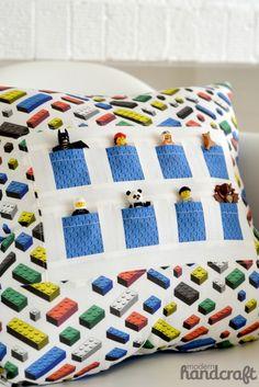 Pocket Pals Pillow Tutorial