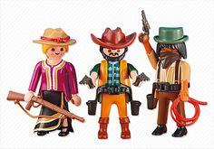 2 Cowboys and Cowgirl - PM USA PLAYMOBIL® USA