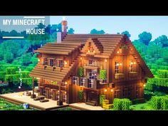Minecraft House Plans, Minecraft House Tutorials, Minecraft Mansion, Minecraft Cottage, Minecraft Houses Survival, Easy Minecraft Houses, Minecraft Houses Blueprints, Minecraft House Designs, Minecraft Crafts