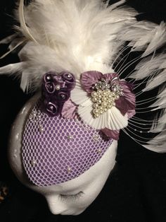 Grape Us with Your Prescence BY SUSANNAH GREENWOOD #millinery #hats #HatAcademy
