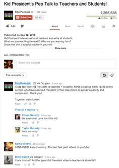 """Bye bye, comentarios anónimos en Youtube. La red social de vídeos obliga a identificarse a los usuarios con su perfil en Google+. ¿Una forma de evitar el anonimato? ¿""""Obligar"""" a usar la red social de Google? ¿Ordenar los comentarios según relevancia?"""