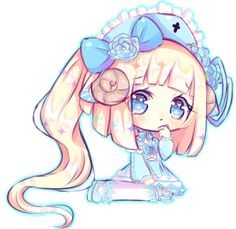 Art trade with minipotions Ahh, your oc was so fun to draw *u* she is so cute Thank you for art trading with me ! [AT] minipotions Cute Kawaii Girl, Kawaii Anime Girl, Anime Art Girl, Chibi Love, Chibi Girl, Chibi Kawaii, Cute Anime Chibi, Cute Animal Drawings Kawaii, Cute Drawings