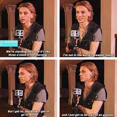 """First look at """"The Mortal Instruments: City of Bones"""" with Jamie Campbell Bower as Jace Wayland."""