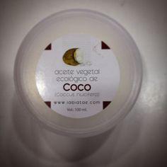 Manteca o aceite de coco. www.ayelenatural.com