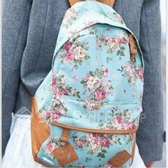 Cheap rucksack backpack, Buy Quality rucksack blue directly from China rucksack bag Suppliers: 2016 100% Top Quality Women Canvas Satchel Travel School Backpack Rucksack Cute Bag Dot Printing Free Shipping mochila b