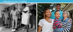 Decent shelter is something we all need to thrive, and the years have shown us again and again what a strong foundation a Habitat house can be for a family. Join us in celebrating 40 years of #Habitat!