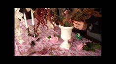 IDEA decorazione floreale con fiori raccolti in giardino per un complean...