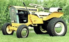 allis chalmers d21 garden tractor - need to find one of these hoods