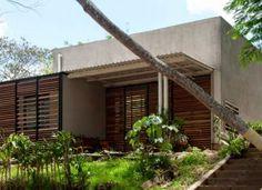 Diseño de pequeña casa de campo construida en 50 metros cuadrados