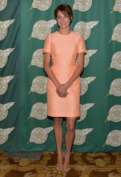 Shailene Woodley in Jonathan Saunders at the 51st Annual Publicists Awards Luncheon