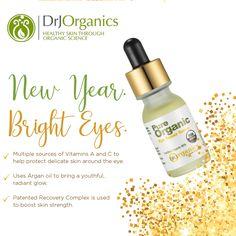 DrJ Organics Eye Repair Serum - 15 ml Kaomojibalms 4 Pack Lip Balms - 1 French Vanilla, 2 Cherry Pom and 1 Coconut ...