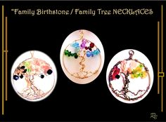 family birthstone necklace, family tree necklace, wife gift,mother,daughter Couple Gifts, Gifts For Wife, Gifts For Family, Grandmother Jewelry, Grandmother Gifts, Wood Anniversary Gift, Anniversary Gifts For Couples, Family Tree Necklace, Tree Of Life Necklace