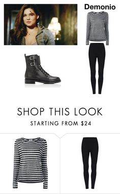 """""""Demonio"""" by supernerdgirl300 on Polyvore featuring Frame and Gianvito Rossi"""