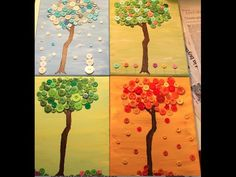 Button Trees DIY