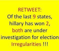 #DemocraticPrimary #NYElectionFraud #AZElectionFraud #FeelTheBern #BernieSanders2016 #NeverHillary #BernieOrBust