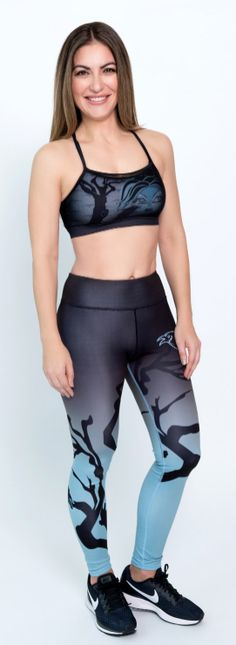 Call of the Wild yoga pant and matching bra