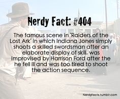 I'm learning a lot from these Nerd Facts, this one I heard before.
