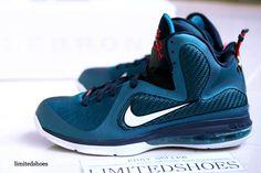 new product 03975 b668f Nike LeBron 9 Swingman Green Abyss 469764-300 (9)