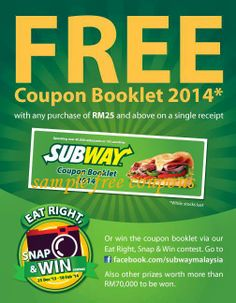 Subway Coupons PROMO expires June 2020 Hurry up for a BIG SAVERS The subway is an international fast-food franchise with more than Free Printable Coupons, Free Coupons, Printable Cards, Free Printables, Local Coupons, Online Coupons, Grocery Coupons, Haircut Coupons, Subway Gift Card