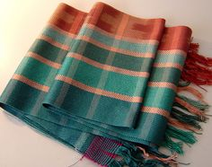 Silk scarf with ikat details. abalonee on flickr.