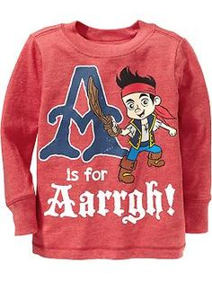 Lyric: 4T Disney© Jake and the Never Land Pirates Tees for Baby | Old Navy