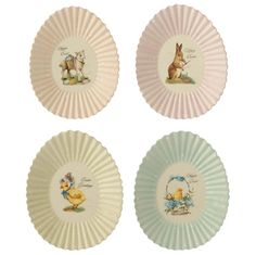"9"" Easter Egg Plate by RAZ Imports"