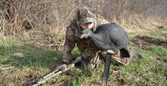Turkey hunter stalking a turkey Hunting Rifles, Archery Hunting, Deer Hunting Tips, Bolt Action Rifle, Greatest Mysteries, Turkey Hunting, Get Outside, Mans Best Friend, Bald Eagle