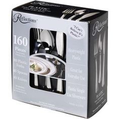 reflections plastic cutlery combo 160 ct cheapest iu0027ve seen
