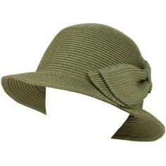 fee72eb04c9 UPF 50+ Ladies Summer Big Ribbon Bow Cloche Bell Bucket Sun Hat Cap 57cm  Gray