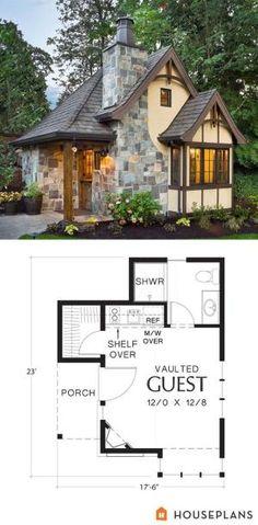 Tiny House And Blueprint   I Just Love Tiny Houses! by RichmondOfRichelieu