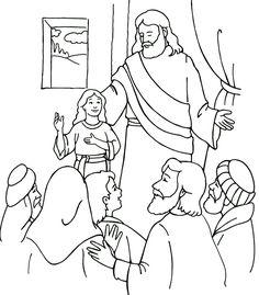 Paginas Biblicas para Colorear | Dibujos biblicos para Menores | Recursos de Esperanza