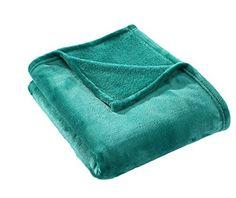 HYSEAS Velvet Plush Throw, Home Fleece Throw Blanket, 50 ...