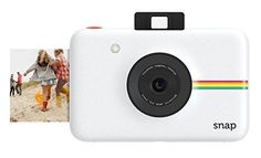 Gifts ideas :Polaroid Snap Instant Digital Camera - White- with ZINK Zero Ink Printing Technology ** A special product just for you. : gift for guys Polaroid Snap Touch Camera, Polaroid Instant Camera, Instant Digital Camera, Instant Film Camera, Instax Mini 9, Fujifilm Instax Mini, Marco Polaroid, Foto Polaroid, Birthday Presents For Girls
