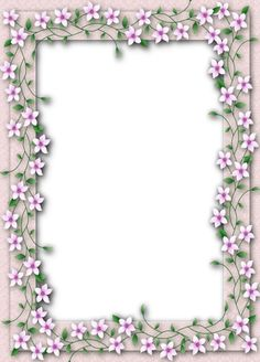 Frames For Flowers Scrapbook Paper, Scrapbooking, Boarders And Frames, Page Borders Design, Framed Art, Framed Prints, Printable Frames, Transparent Flowers, Cute Frames