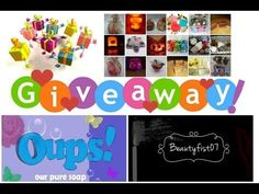 """GIVEAWAY (Our Pure Soaps - """"Oups"""")    BeautyFist07"""