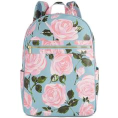 ban.do Rose Parade Backpack ($65) ❤ liked on Polyvore featuring bags, backpacks, rose parade, zipper bag, pocket backpack, daypack bag, rucksack bags and pocket bag