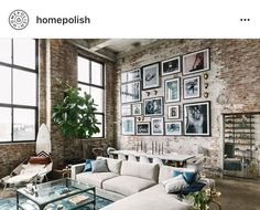 Couch and gallery