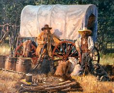 The Art of Rick McCollum, Southwestern Artist-historic to contemporary paintings of Native Americans, cowboys and the southwestern landscape. Cowboy Art, Cowboy Pics, Cowboy Pictures, Western Cowboy, West Art, Le Far West, Native American History, Mountain Man, Fauna