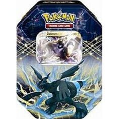 SALE!! Pokemon Black White Card Game Spring 2012 EX Collectors Tin Zekrom REVIEW