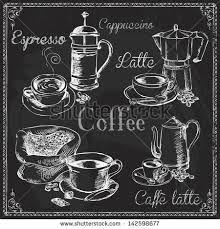 Image result for blackboard lettering coffee shop