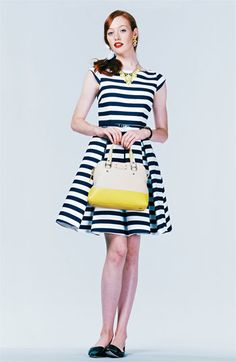 kate spade fit & flare dress